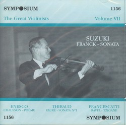 The Great Violinists, Vol. 7