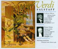 Verdi: Falstaff / Otello / Aida (1938-1952)