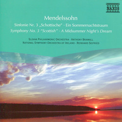 Mendelssohn: Symphony No. 3 / A Midsummer Night´s Dream (Excerpts)