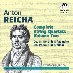 Reicha: Complete String Quartets, Vol. 2