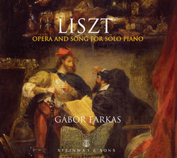 Liszt: Opera & Song for Solo Piano