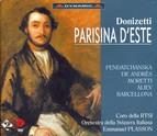 Donizetti: Parisina D\'Este