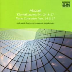 Mozart: Piano Concertos Nos. 24 and 27