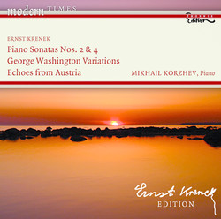 Krenek, E.: Piano Sonatas Nos. 2 and 4 / George Washington Variations / Echoes From Austria