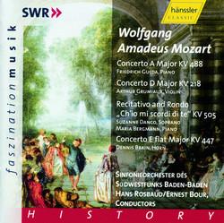 Piano Concerto No.23/Violin Concerto No.4/Horn Concerto No.3