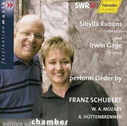 Wolfgang Amadeus Mozart, Franz Schubert, Anselm Hüttenbrenner - Lieder - Songs