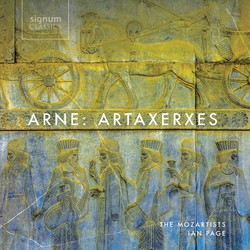 Arne: Artaxerxes