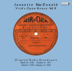 Vick's Open House, Vol. II (Original Radio Broadcasts) (1937-1938)