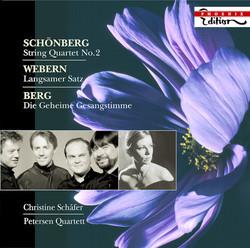 Schoenberg, A.: String Quartet No. 2 / Webern, A.: Langsamer Satz / Berg, A.: Lyrische Suite (Excerpt)