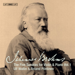 Brahms - The Five Sonatas for Violin & Piano, Vol.1