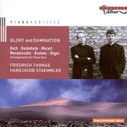 Piano Duo Arrangements - Bach, J.S. / Sweelinck, J.P. / Buxtehude, D. / Mozart, W.A. / Mendelssohn, Felix / Brahms, J.