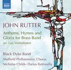 John Rutter: Anthems, Hymns & Gloria for Brass Band