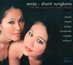 Piano Duo Recital: Sungkono, Shanti / Sungkono, Sonja - Bartok, B. / Mcphee, C. / Milhaud, D. / Infante, M. / Kangro, R. / Lutoslawski, W.