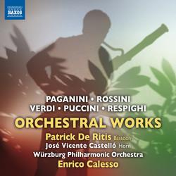 Paganini, Rossini, Verdi, Puccini & Respighi: Orchestral Works
