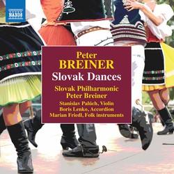 Peter Breiner: Slovak Dances, Naughty & Sad