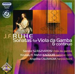 Ruhe: Viola Da Gamba Sonatas