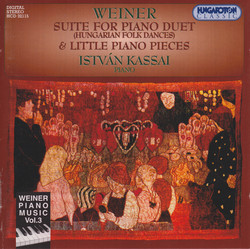 Weiner: Piano Music, Vol. 3