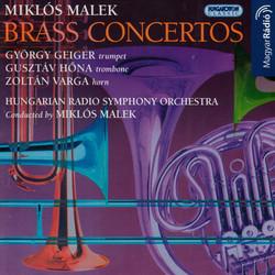 Malek: Trumpet Concerto / Trombone Concerto / Horn Concerto