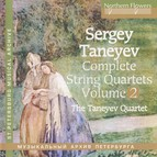 Taneyev: Complete String Quartets, Vol. 2