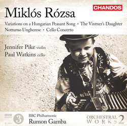 Rozsa: Orchestral Works, Vol. 2