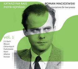 Maciejewski: Transcriptions for 2 Pianos, Vol. 1