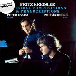 Kreisler: Original Compositions and Transcriptions