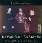 Mozart, W.A.: Zauberflote (Die) [Sung in English] [Opera] (Walter) (1956)